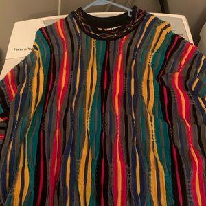 Large authentic vintage 100% badass COOGI sweater.